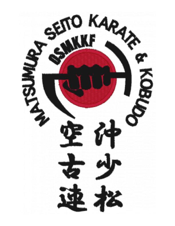 Matsumura Seito Karate & Kobudo OSMKKF - Logo / Patch